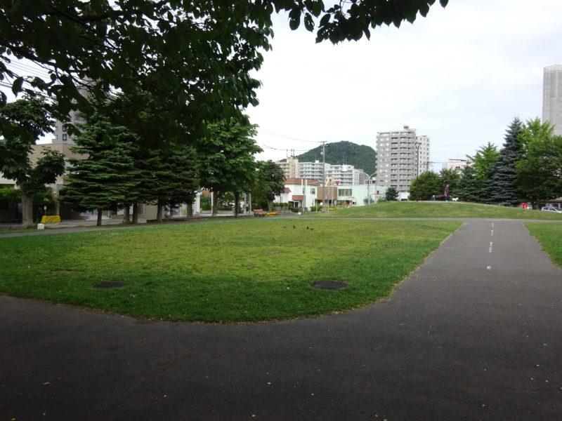 幌西自転車公園自転車専用コース中央付近
