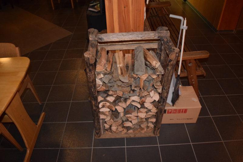 薪ストーブで使用する薪