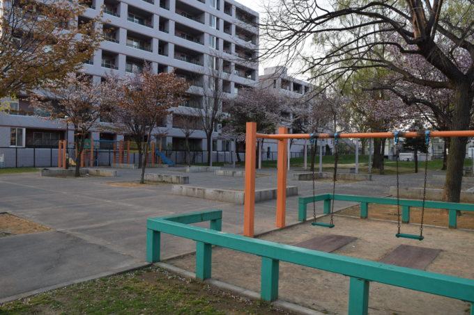 北39条アカシヤ公園(北海道札幌市東区)