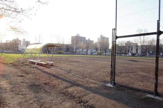 北園公園野球場