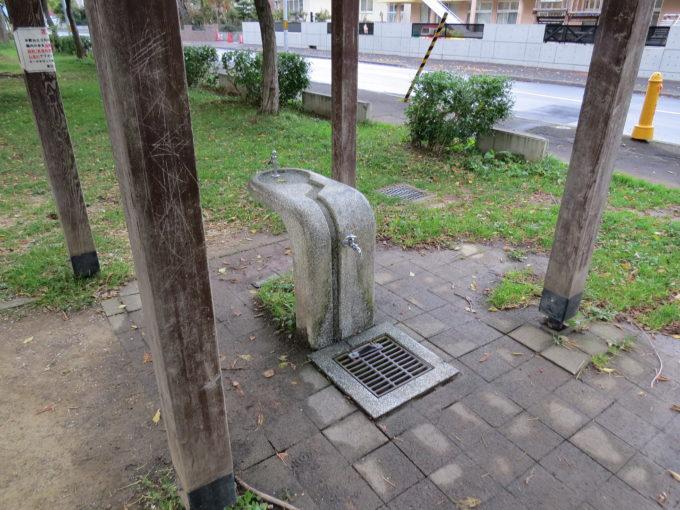 手洗い場・水飲み場は4箇所