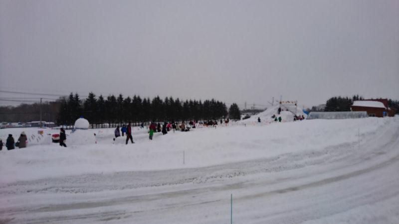 雪まつり会場