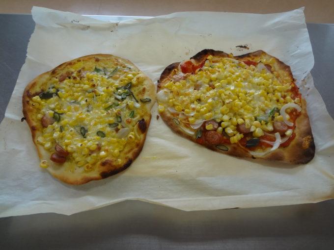 とうきびピザ