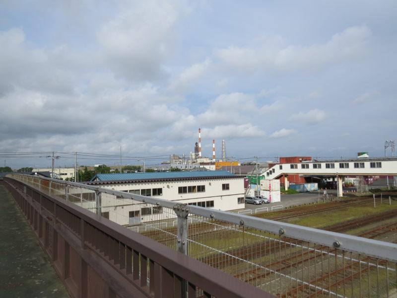 日本製紙の工場煙突