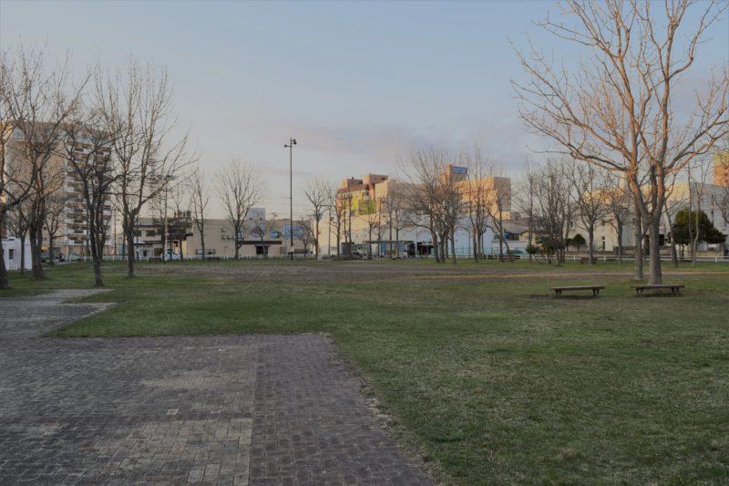 幸町公園多目的広場