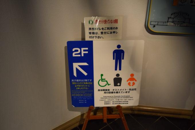 釧路湿原展望台トイレ