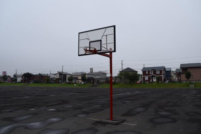 釧路昭和中央公園バスケットゴール