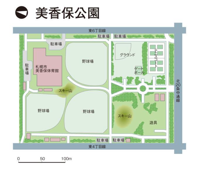 美香保公園全体図