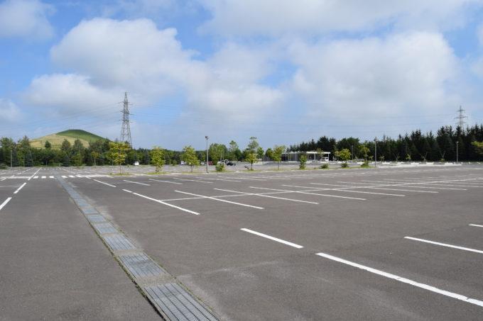 モエレ沼公園駐車場P1駐車場