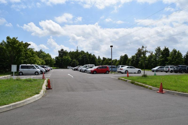 モエレ沼公園駐車場P3駐車場(南側)