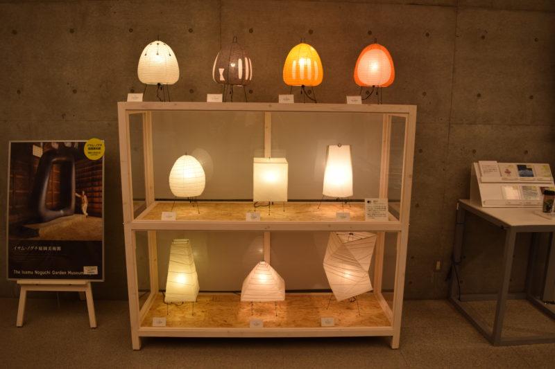 イサム・ノグチの作った光の彫刻「あかり」
