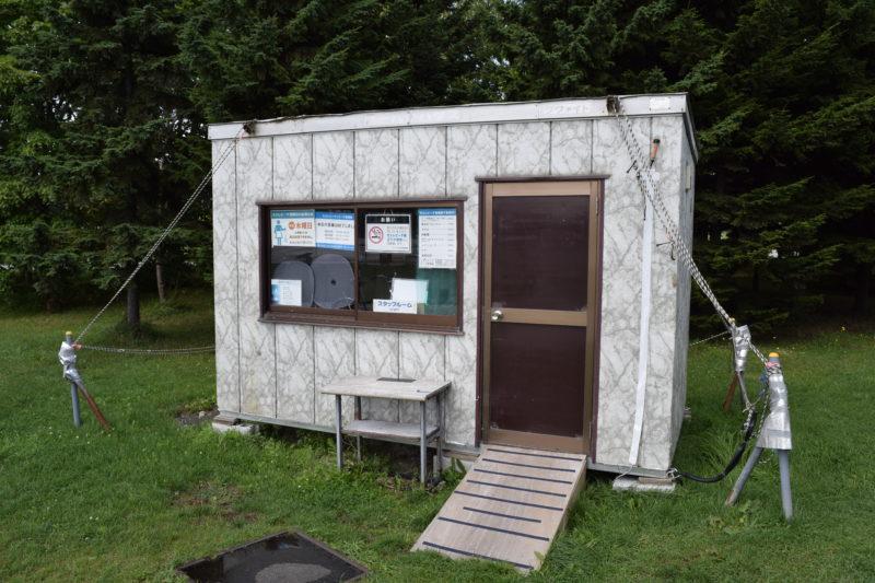 モエレビーチ監視小屋
