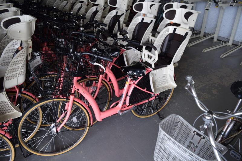 26インチの乳幼児用バスケット付き自転車