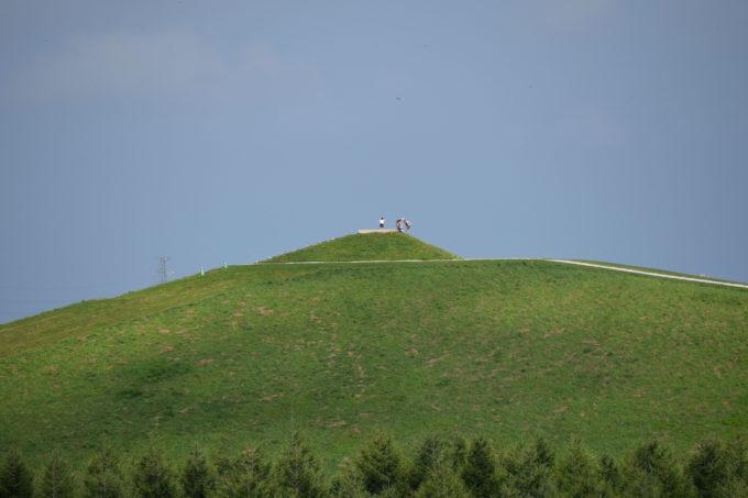 プレイマウンテンの山頂からは雄大な景色