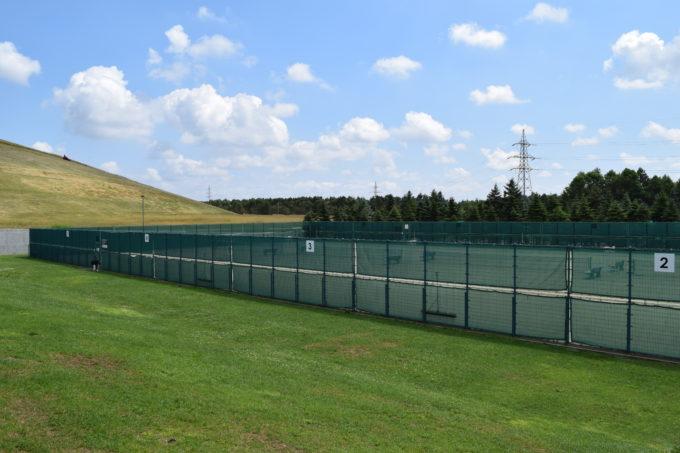 モエレ沼公園テニスコート