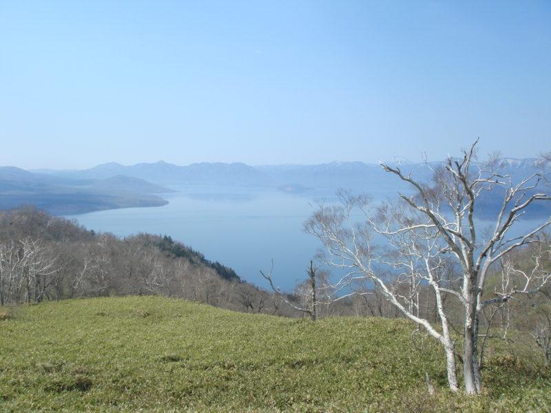 藻琴山展望駐車公園からの屈斜路湖