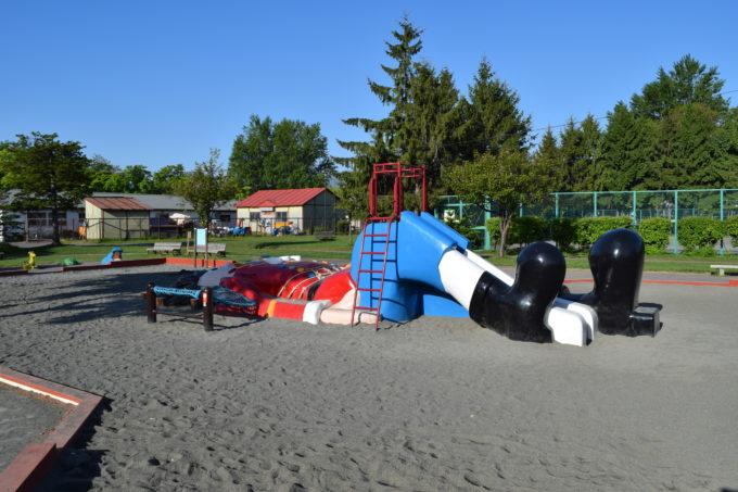 農試公園の遊具広場(遊戯広場)