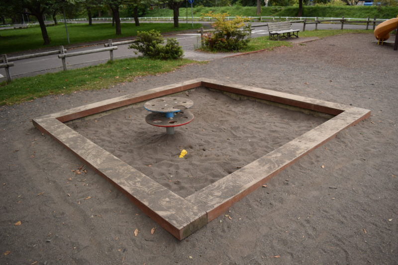 小さめの砂場