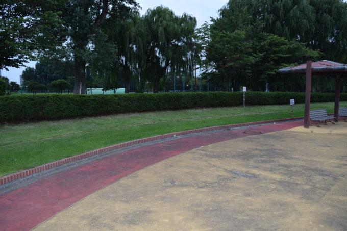 芝生スペース