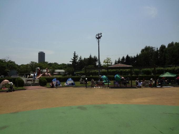 農試公園テント