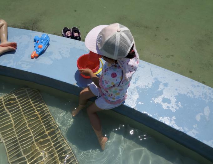 水遊びの道具