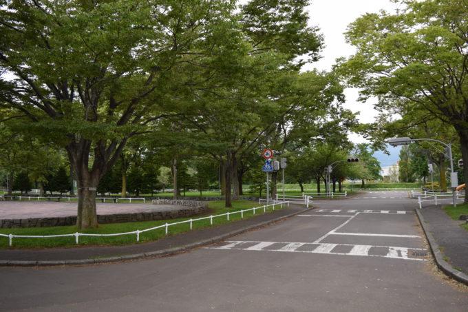 農試公園交通コーナー(じてんしゃのいえ)