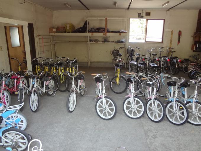 小学生・中学生・高校生、そして大人の自転車までサイズも豊富