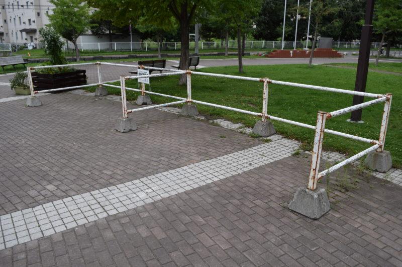 ツインキャップ横の駐輪場