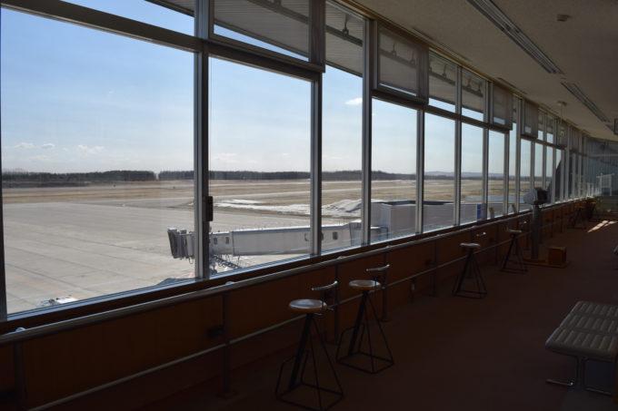 帯広空港 3F展望ホール