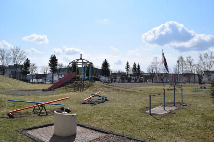帯広むつみ公園遊具