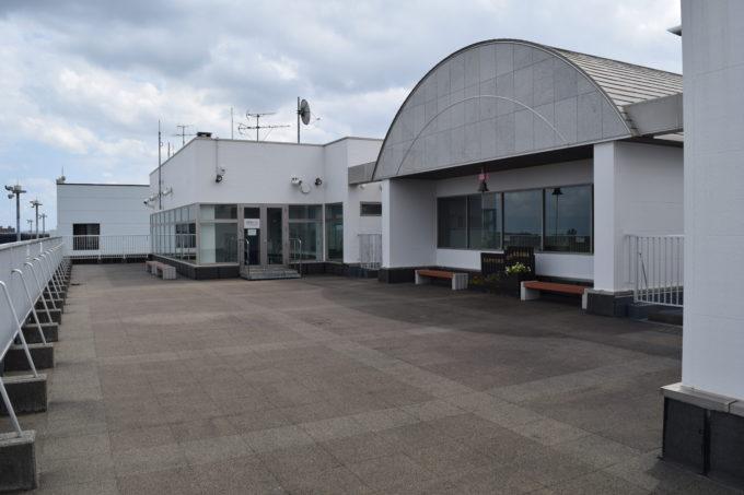 札幌丘珠空港(札幌飛行場) 3F展望デッキ