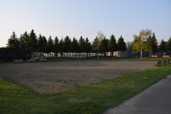 丘珠公園ゲートボール場