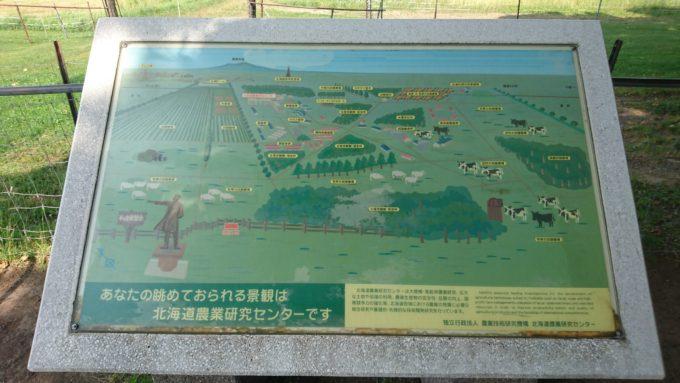 あなたの眺められている景観は北海道農業研究センターです