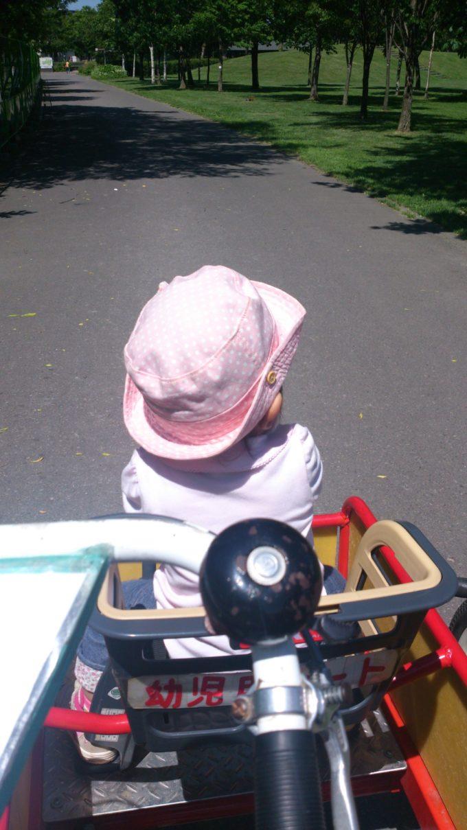 4輪自転車幼児用シート