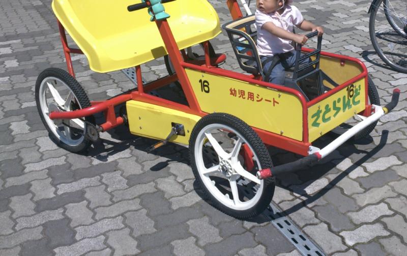 レンタサイクルの車体番号
