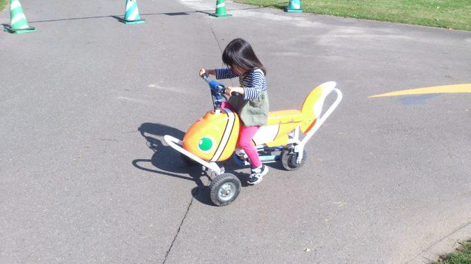 ニモ型のおもしろ自転車