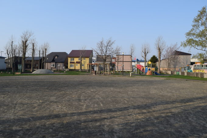多目的広場から公園全体