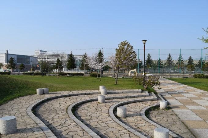 オニオンレストコーナー(公園入口付近)