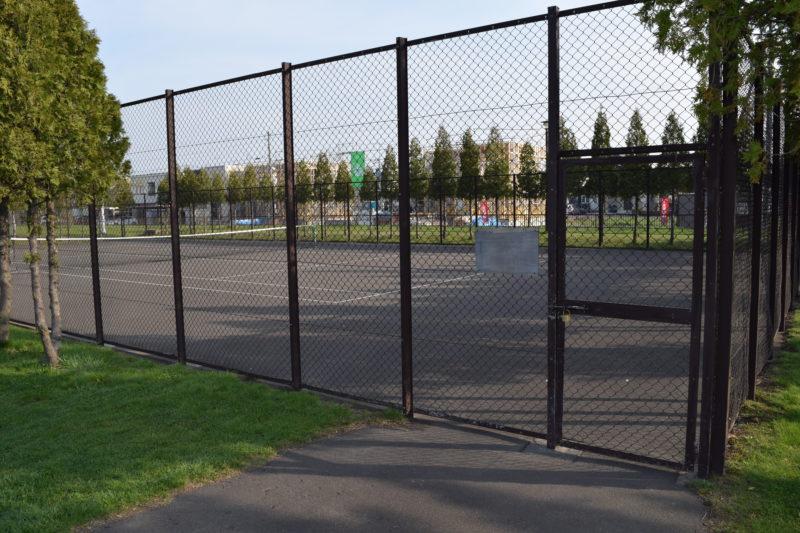 札苗東公園テニスコート