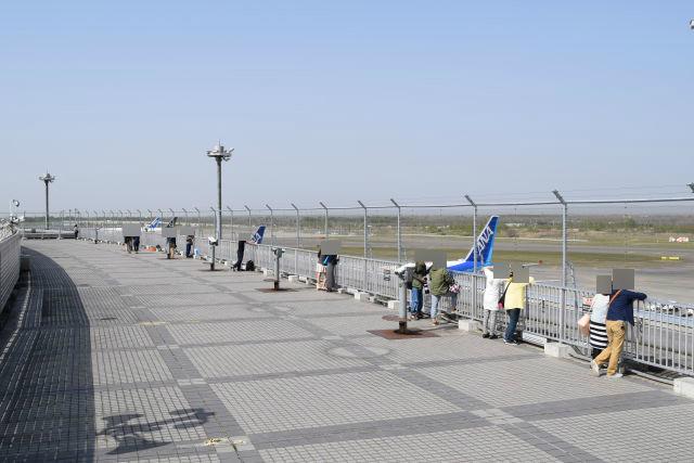 新千歳空港展望デッキ(北海道千歳市美々)