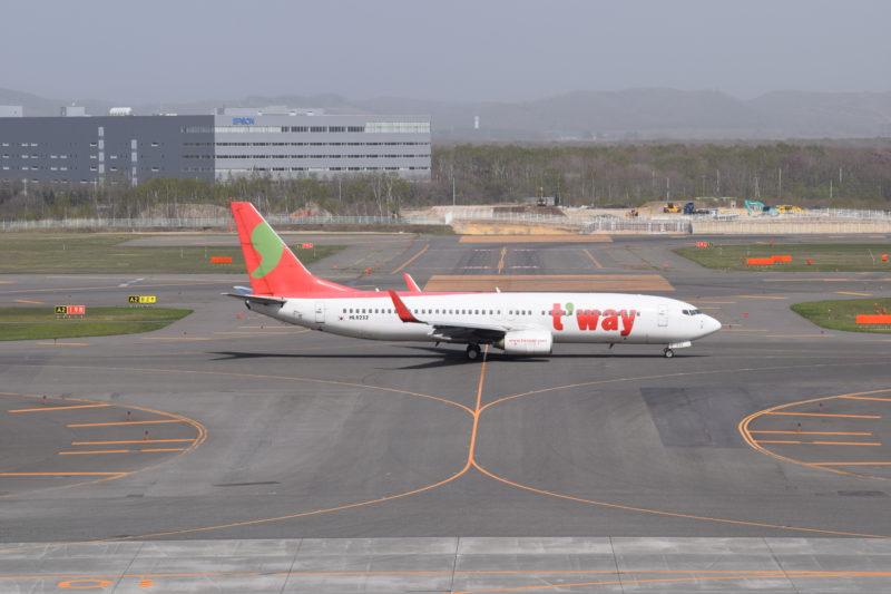韓国LCCのティーウェイ航空