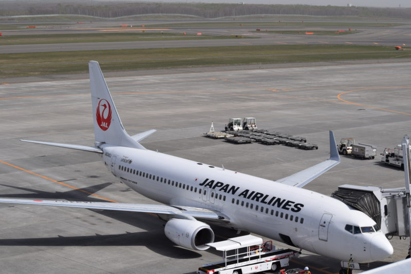 JALの駐機場