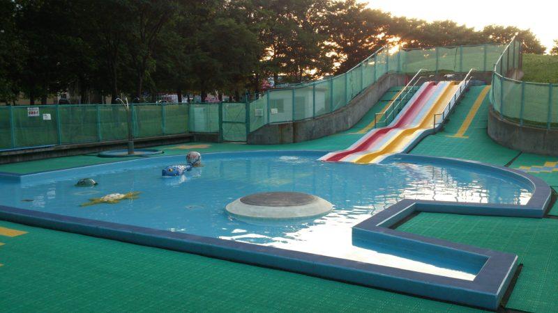 新琴似二番通公園遊水プール