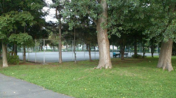新琴似二番通公園テニスコート
