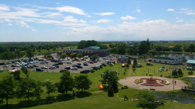 しのつ公園展望台からの眺め