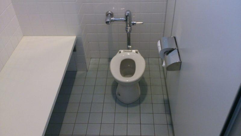 ビジターセンター内のキッズトイレ