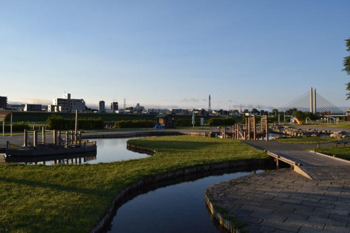豊平川緑地ウォーターガーデン