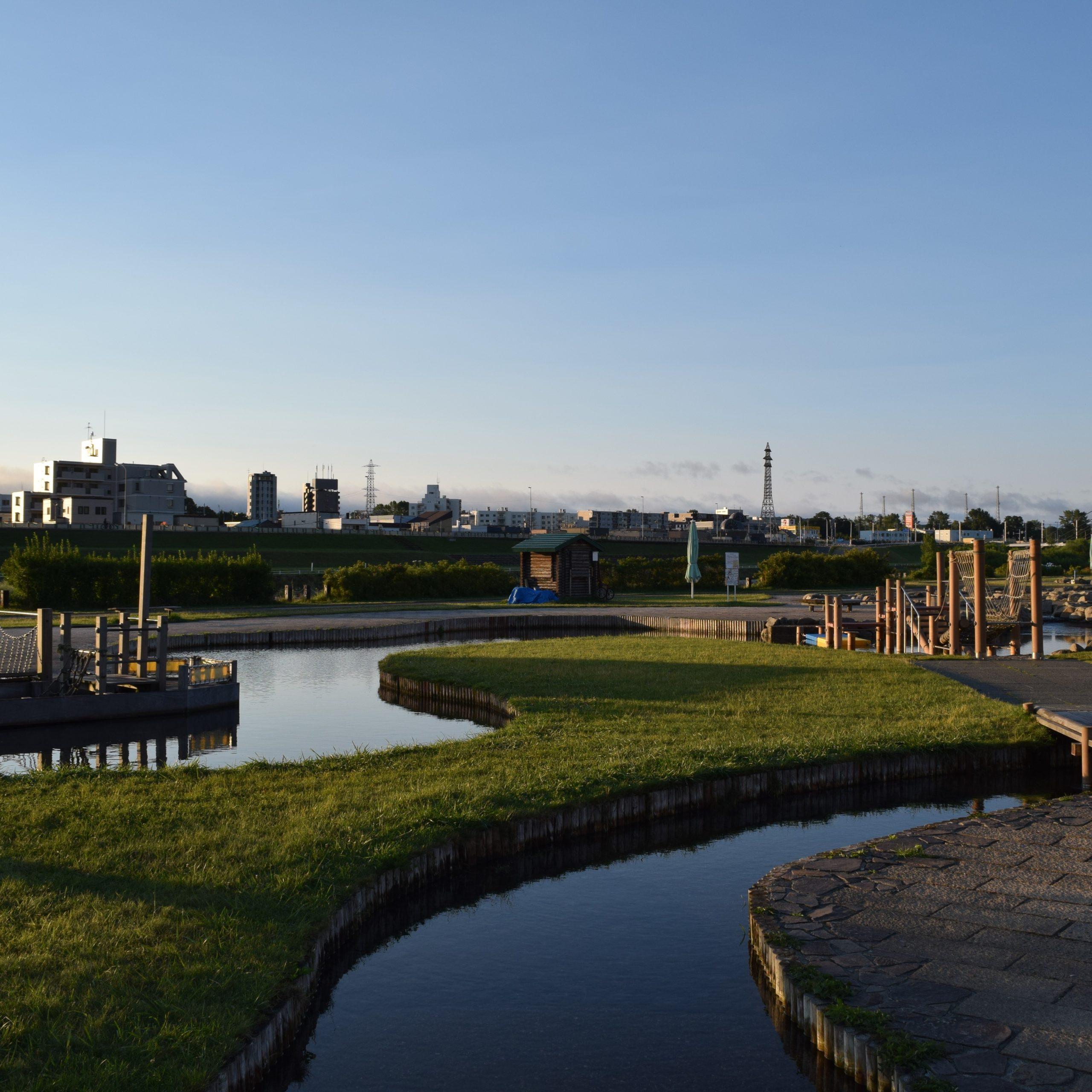 豊平川緑地ウォーターガーデン(北海道札幌市南区)