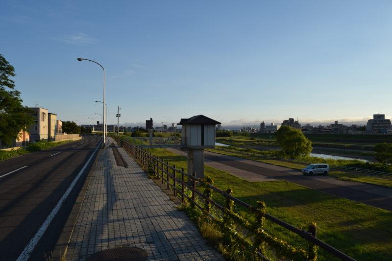 ミュンヘン大橋下流左岸樋門