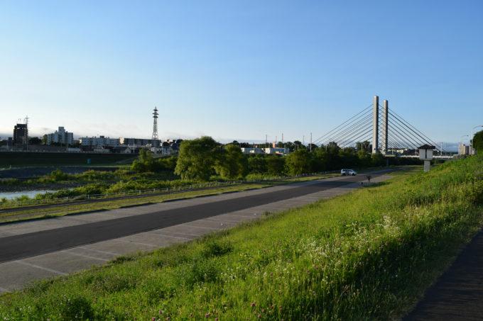豊平川緑地ウォーターガーデン臨時駐車場